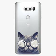 iSaprio Plastový kryt - Crazy Cat 01 - LG V30