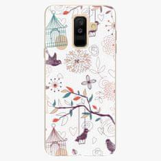 iSaprio Plastový kryt - Birds - Samsung Galaxy A6 Plus