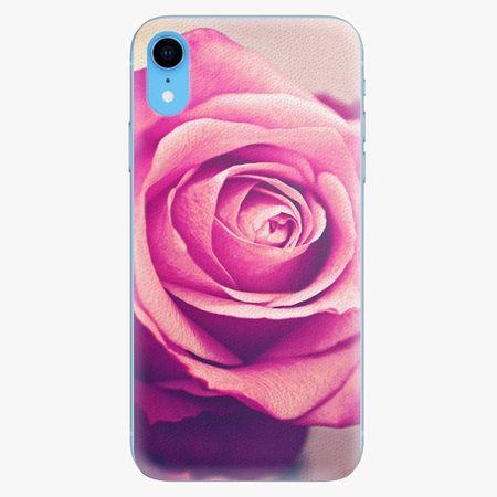iSaprio Plastový kryt - Pink Rose - iPhone XR