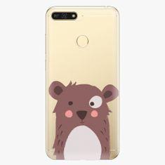 iSaprio Plastový kryt - Brown Bear - Huawei Honor 7A