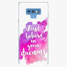 iSaprio Plastový kryt - Believe - Samsung Galaxy Note 9