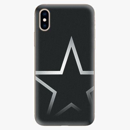 iSaprio Silikonové pouzdro - Star - iPhone XS