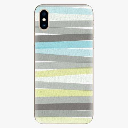iSaprio Silikonové pouzdro - Stripes - iPhone XS
