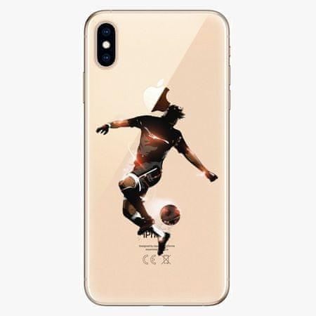 iSaprio Silikonové pouzdro - Fotball 01 - iPhone XS Max