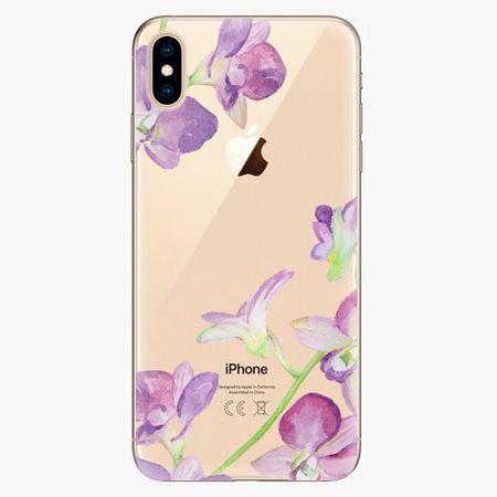 iSaprio Plastový kryt - Purple Orchid - iPhone XS Max