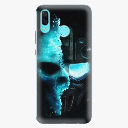 iSaprio Silikonové pouzdro - Roboskull - Huawei Nova 3