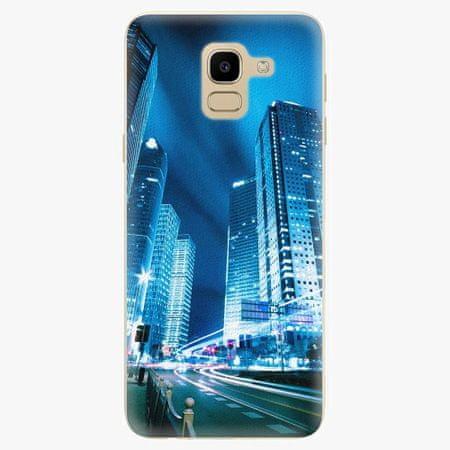 iSaprio Plastový kryt - Night City Blue - Samsung Galaxy J6