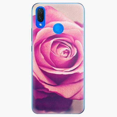 iSaprio Silikonové pouzdro - Pink Rose - Huawei Nova 3i