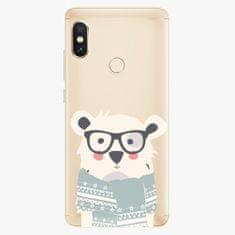 iSaprio Plastový kryt - Bear with Scarf - Xiaomi Redmi Note 5
