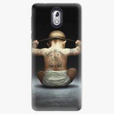 iSaprio Plastový kryt - Crazy Baby - Nokia 3.1
