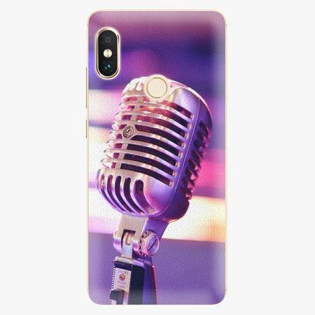 iSaprio Plastový kryt - Vintage Microphone - Xiaomi Redmi Note 5