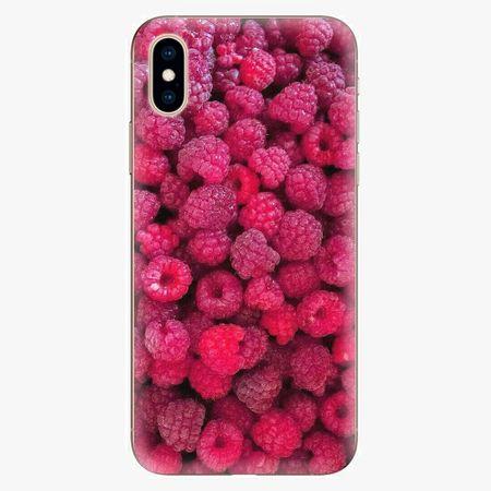 iSaprio Silikonové pouzdro - Raspberry - iPhone XS