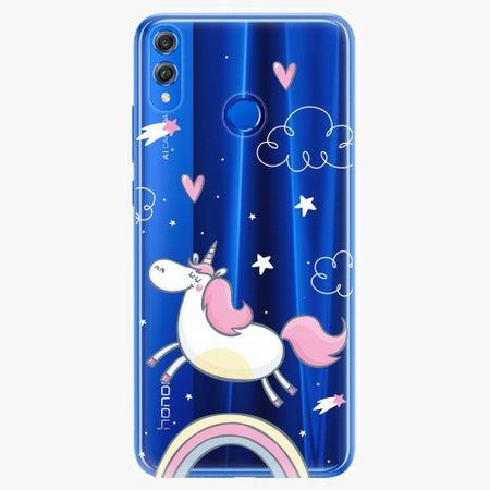 iSaprio Silikonové pouzdro - Unicorn 01 - Huawei Honor 8X