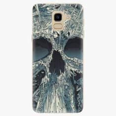 iSaprio Plastový kryt - Abstract Skull - Samsung Galaxy J6