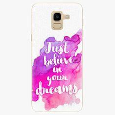 iSaprio Silikonové pouzdro - Believe - Samsung Galaxy J6