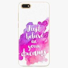 iSaprio Plastový kryt - Believe - Huawei Honor 7S