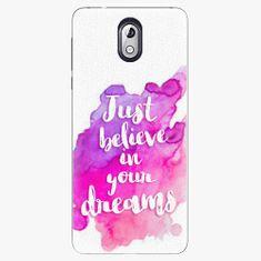 iSaprio Plastový kryt - Believe - Nokia 3.1