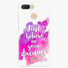 iSaprio Plastový kryt - Believe - Xiaomi Redmi 6