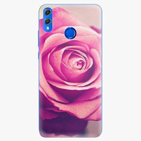 iSaprio Plastový kryt - Pink Rose - Huawei Honor 8X