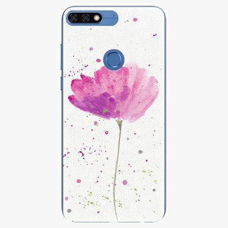 iSaprio Silikonové pouzdro - Poppies - Huawei Honor 7C