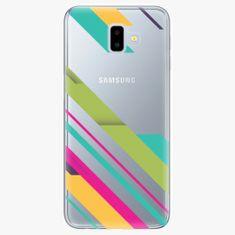 iSaprio Plastový kryt - Color Stripes 03 - Samsung Galaxy J6+