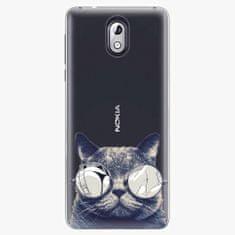 iSaprio Plastový kryt - Crazy Cat 01 - Nokia 3.1