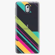 iSaprio Plastový kryt - Color Stripes 03 - Nokia 3.1