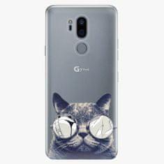 iSaprio Plastový kryt - Crazy Cat 01 - LG G7