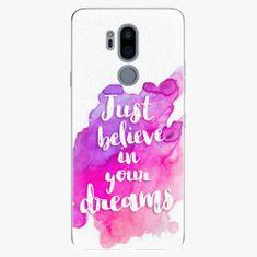 iSaprio Plastový kryt - Believe - LG G7