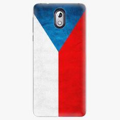 iSaprio Plastový kryt - Czech Flag - Nokia 3.1