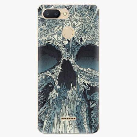 iSaprio Silikonové pouzdro - Abstract Skull - Xiaomi Redmi 6