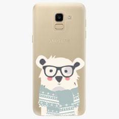 iSaprio Plastový kryt - Bear with Scarf - Samsung Galaxy J6