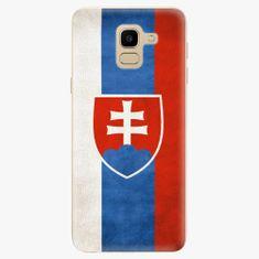 iSaprio Plastový kryt - Slovakia Flag - Samsung Galaxy J6