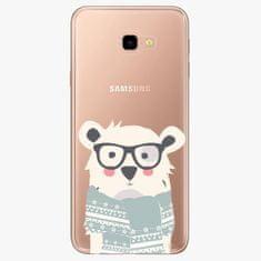 iSaprio Plastový kryt - Bear with Scarf - Samsung Galaxy J4+