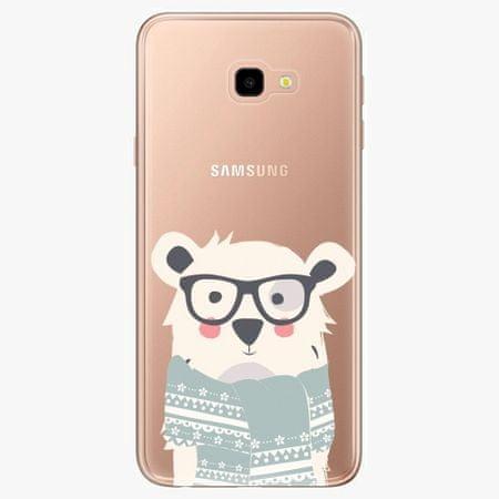 iSaprio Silikonové pouzdro - Bear with Scarf - Samsung Galaxy J4+