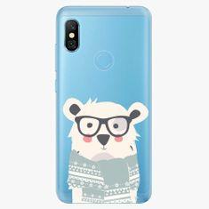 iSaprio Plastový kryt - Bear with Scarf - Xiaomi Redmi Note 6 Pro