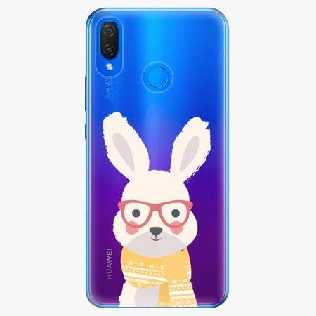 iSaprio Silikonové pouzdro - Smart Rabbit - Huawei Nova 3i