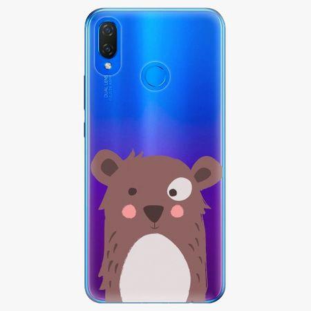 iSaprio Plastový kryt - Brown Bear - Huawei Nova 3i