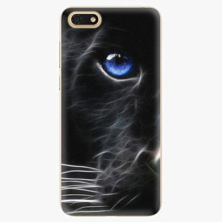 iSaprio Silikonové pouzdro - Black Puma - Huawei Honor 7S
