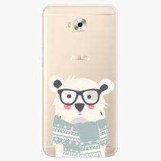 iSaprio Plastový kryt - Bear with Scarf - Asus ZenFone 4 Selfie ZD553KL