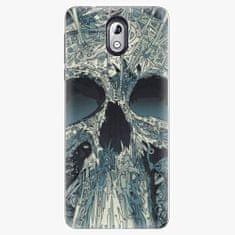 iSaprio Plastový kryt - Abstract Skull - Nokia 3.1