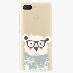 iSaprio Plastový kryt - Bear with Scarf - Xiaomi Redmi 6