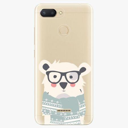 iSaprio Silikonové pouzdro - Bear with Scarf - Xiaomi Redmi 6
