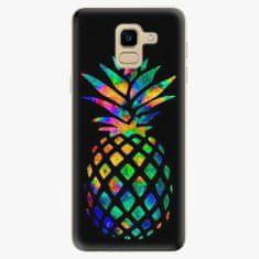 iSaprio Plastový kryt - Rainbow Pineapple - Samsung Galaxy J6