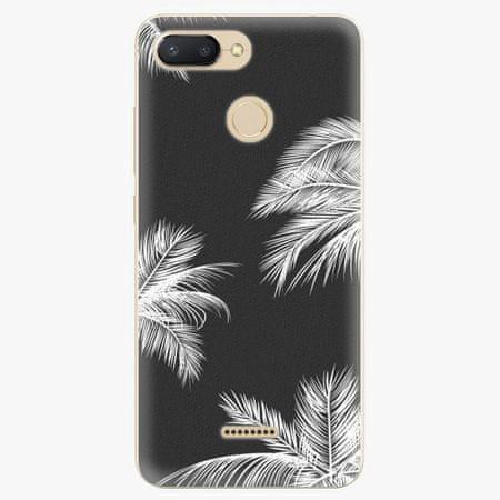 iSaprio Silikonové pouzdro - White Palm - Xiaomi Redmi 6