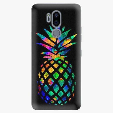 iSaprio Plastový kryt - Rainbow Pineapple - LG G7