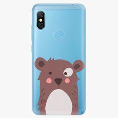 iSaprio Plastový kryt - Brown Bear - Xiaomi Redmi Note 6 Pro