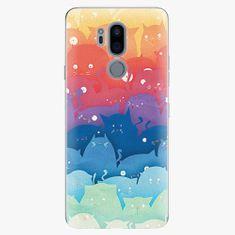 iSaprio Plastový kryt - Cats World - LG G7