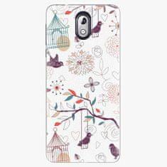 iSaprio Plastový kryt - Birds - Nokia 3.1