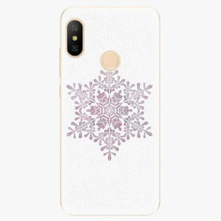 iSaprio Silikonové pouzdro - Snow Flake - Xiaomi Mi A2 Lite